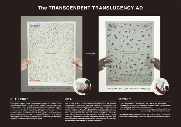 Mitsubishi: The transcendent translucent ad