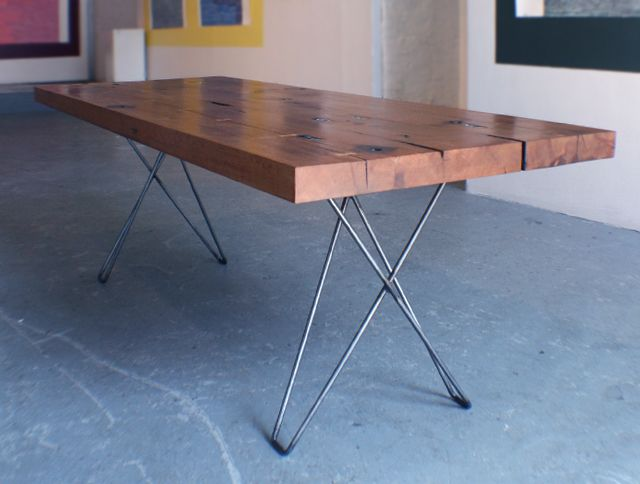 Cenzo Design - Pittsburgh Custom Modern Furniture - Reclaimed Lumber Dining  Table 1 - 29 Best Images About Dinning Table Ideas On Pinterest Coffee