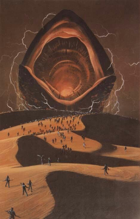 ☆ Dune: Sandworm of Arrakis » Known to the Fremen tribes as Shai-Hulud :¦: Artist Unknown ☆