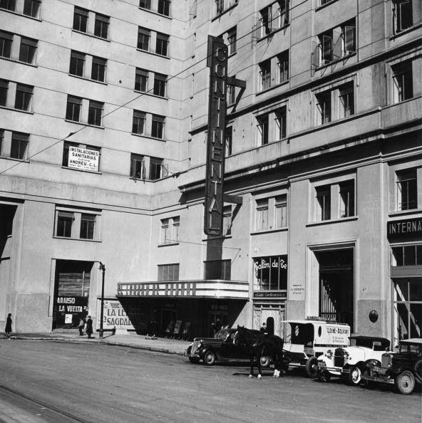 Calle Nataniel y el Cine Continental. 1950