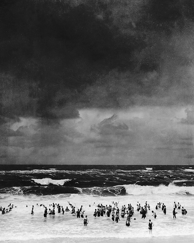 Seashore before the Thunderstorm  1930. By Martin Munkacsi