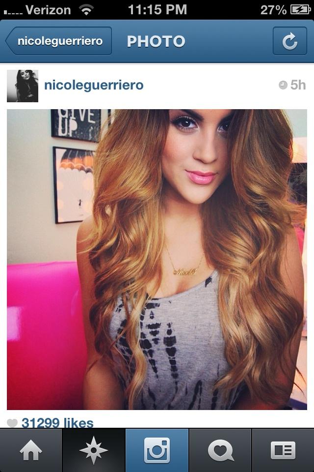 Nicole Guerriero Bellami Hair Extensions Triple Weft Hair Extensions