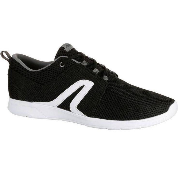 Soft 140 Summer Men's Fitness Walking Shoes - Black/White | Newfeel
