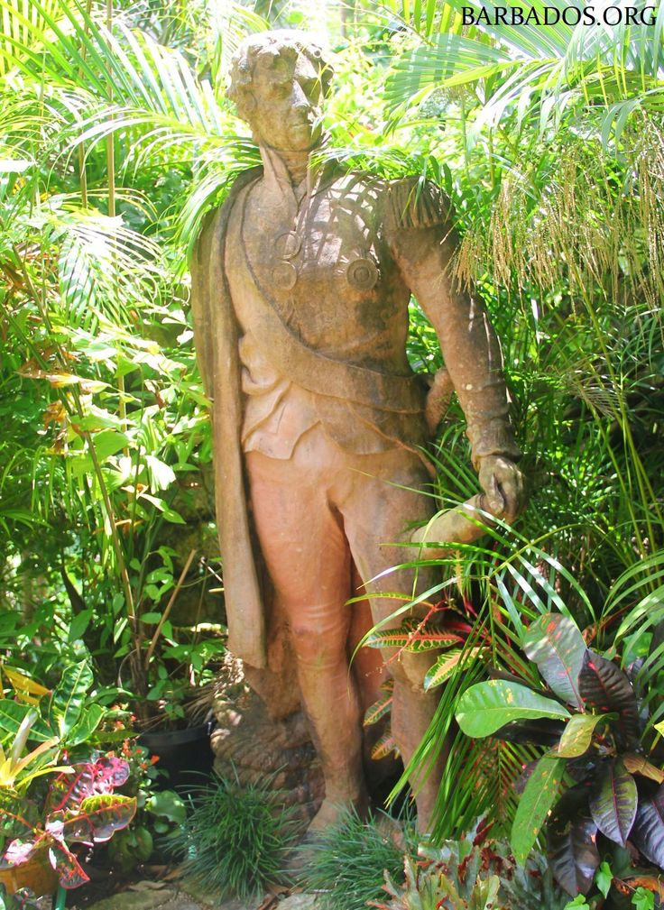Many of you may be familiar with the statue of Lord Nelson in Bridgetown, but do you know where to find this other statue of Nelson in Barbados?