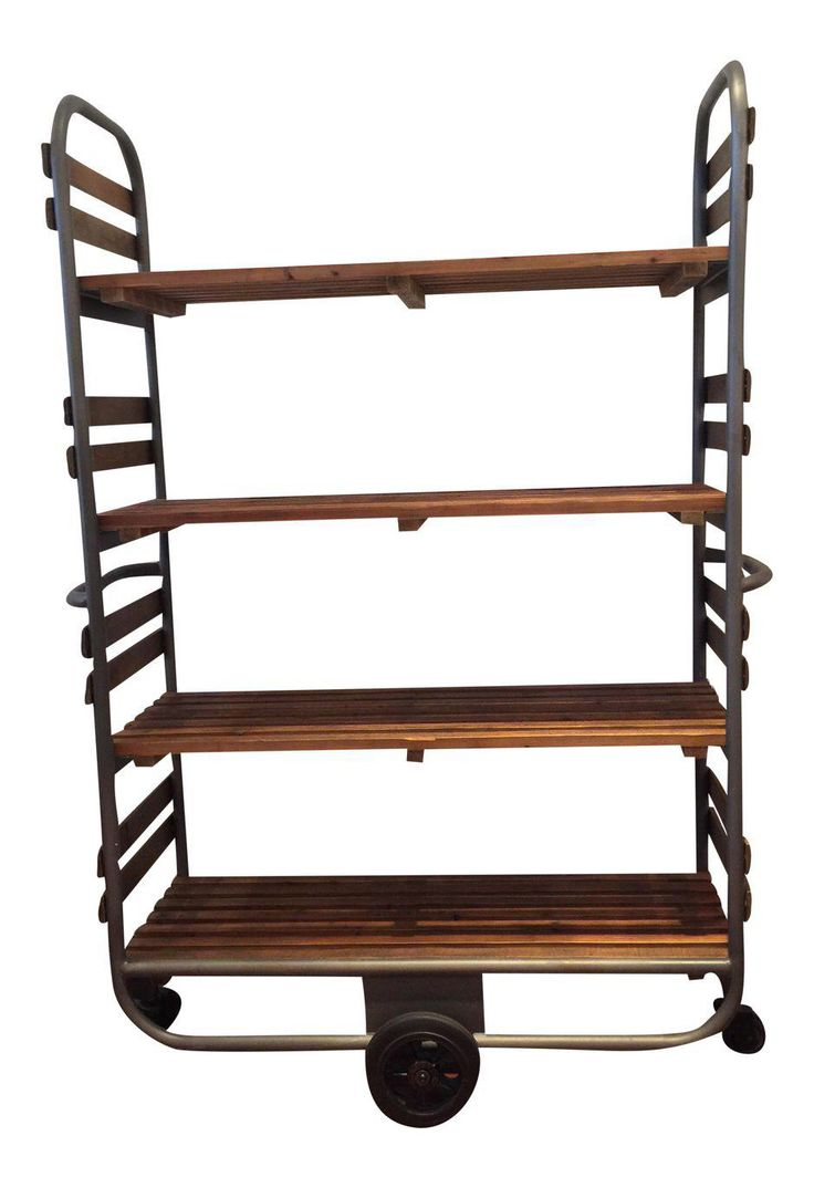 Industrial Baker's Rack on Chairish.com