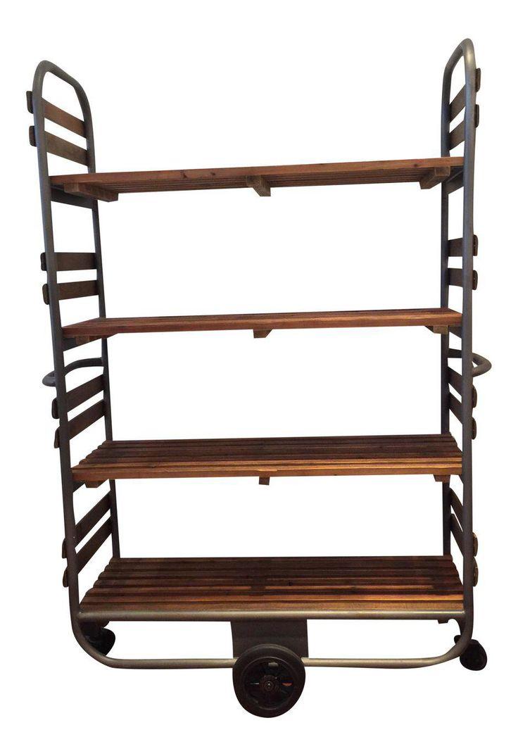 Industrial Baker's Rack on Chairish.com