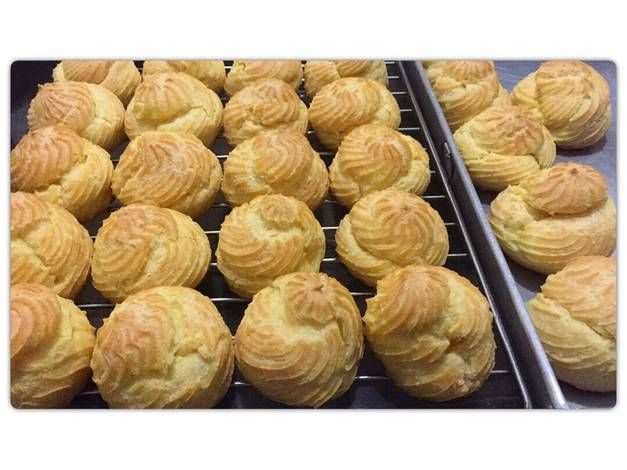 Resep Kue Sus Choux Pastry Anti Gagal Oleh Stephanie Tan Resep Resep Resep Kue Makanan Manis