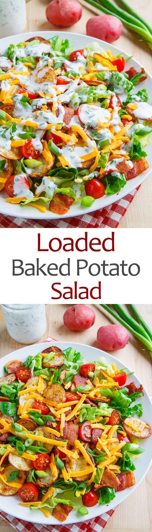Loaded Baked Potato Salad                                                                                                                                                     More