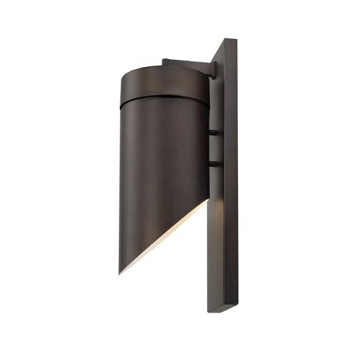 Capital Lighting Outdoor LED Old Bronze LED Outdoor Wall Light | 918311OB-LD | Destination Lighting