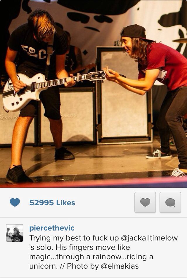 Vic Fuentes and Jack Barakat