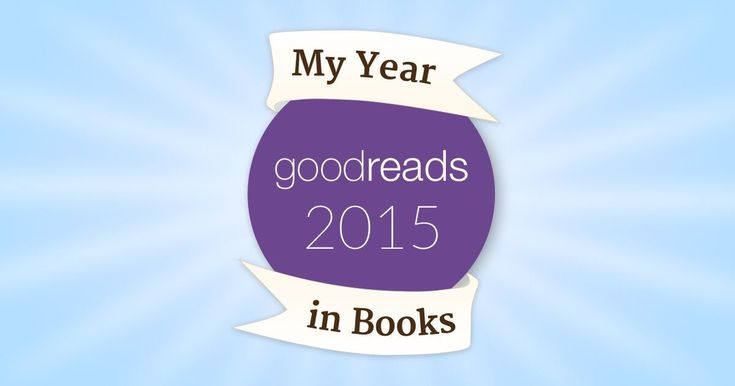 My Year in Books! See what I read in 2015! #goodreads #yearinbooks
