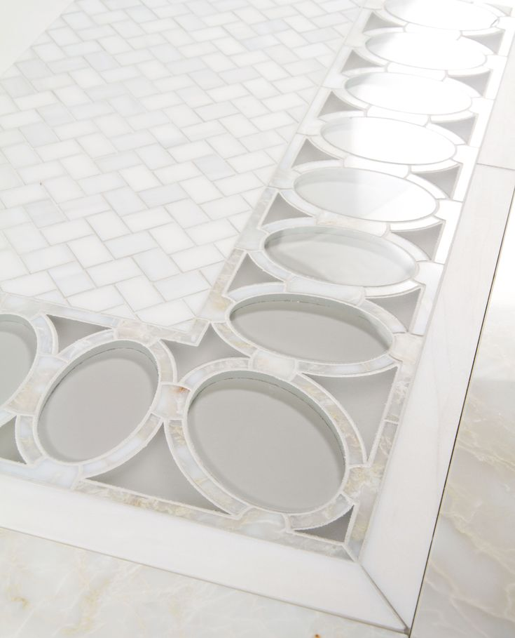 Water Jet By Mosaique Surface