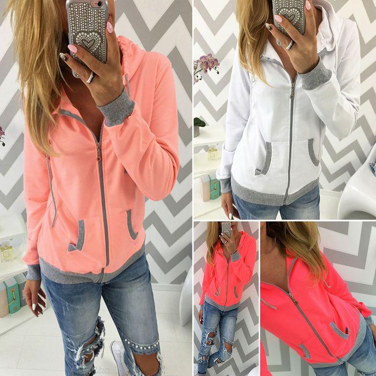 Xmas Womens Jumper Sweatshirt Hoody Hoodies Winter Long Sleeve Sweater Coat Tops #Unbranded #FashionHoodie #CasualOutdoorSports