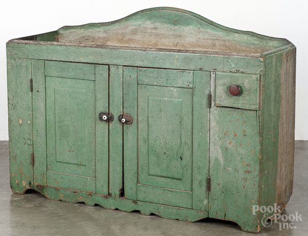 Realized Price   2460 Pennsylvania painted pine drysink  19th c   retaining  an old  Primitive Painted FurniturePrimitive CabinetsCountry  FurnitureAntique. 396 best CUPBOARDS   TALL CHESTS   BLANKET CHESTS images on