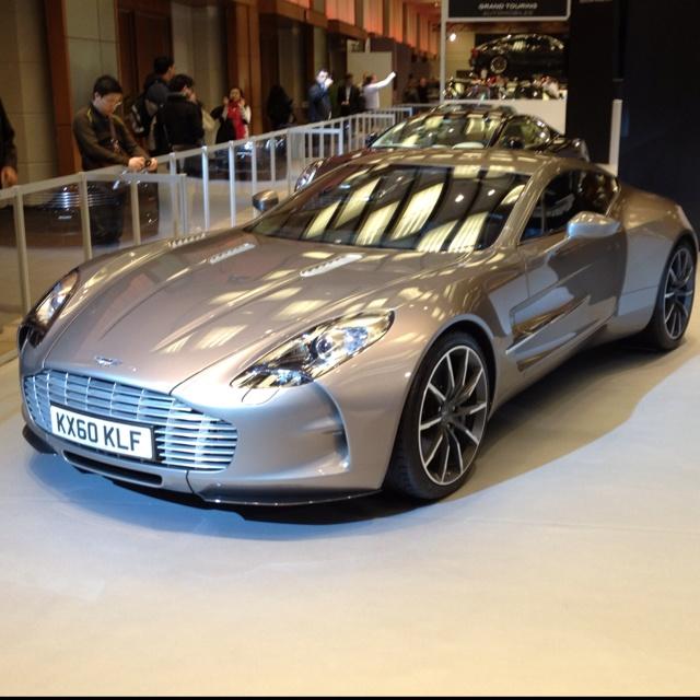 Aston Martin One-77 in the flesh  Taken at the 2012 Toronto Autoshow