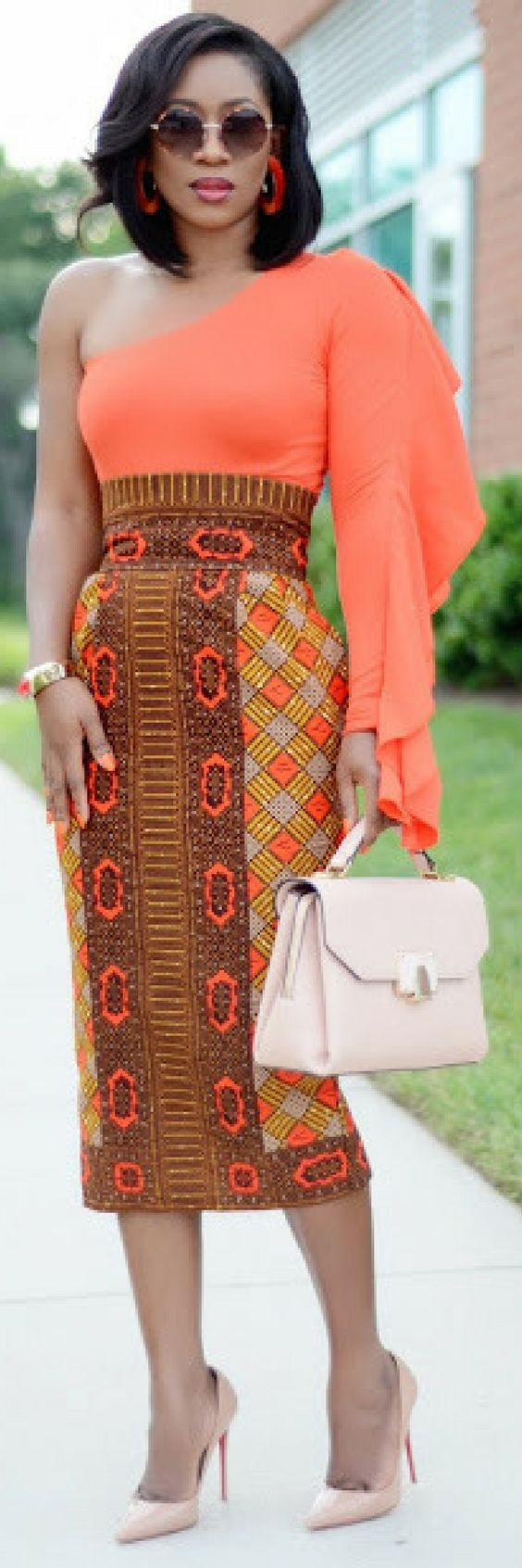 High Waist Pencil Skirt // Summer Outfit Idea By Living My Bliss In Style