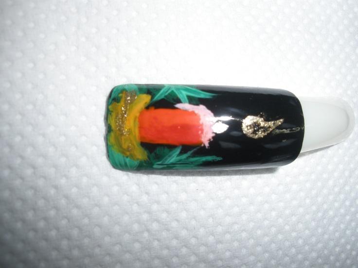Χριστουγεννιάτικο σχέδιο για manicure_No8
