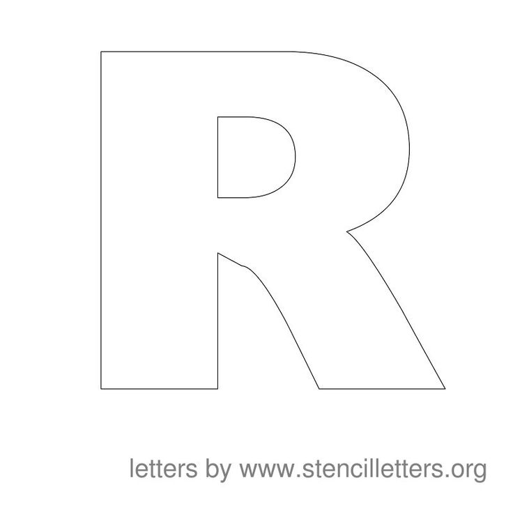 The 25 best large letter stencils ideas on pinterest making large alphabet stencil letters in printable format spiritdancerdesigns Gallery