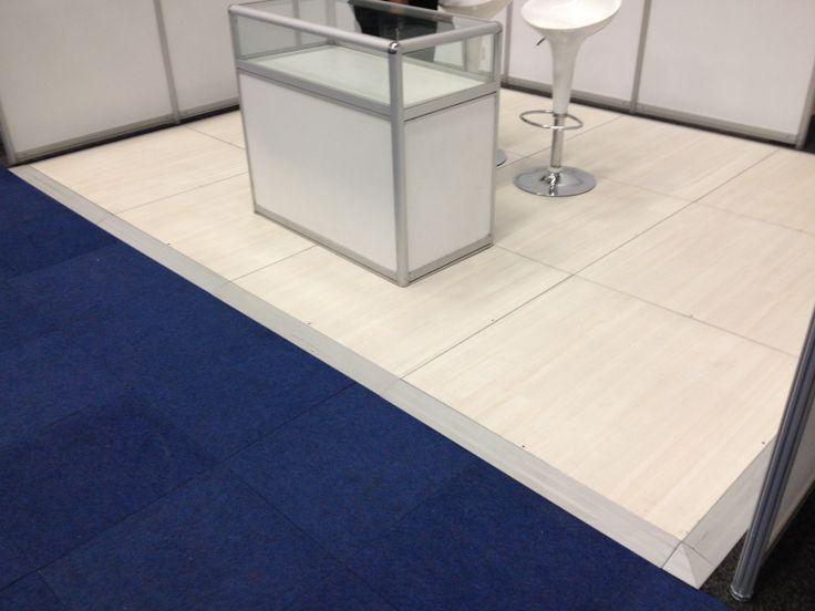 Pearl Teak exhibition floor