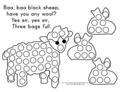Best 25 baa baa black sheep ideas on pinterest nursery for Baa baa black sheep coloring page