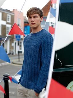 Barry Sweater ~ Free Knitting Pattern