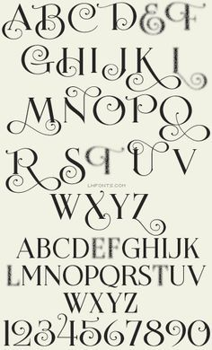 25 Best Ideas About Hand Lettering Fonts On Pinterest
