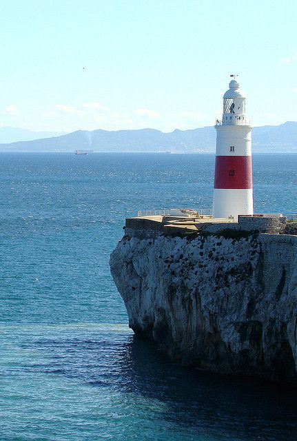 Europa Point (with Africa in the background) Gibraltar