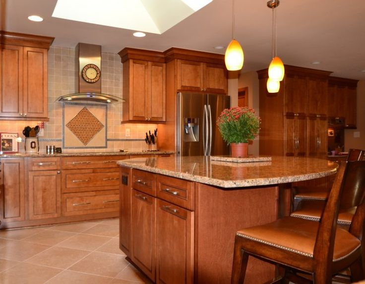 Maple Praline Cabinets Merillat Masterpiece Fairlane Maple