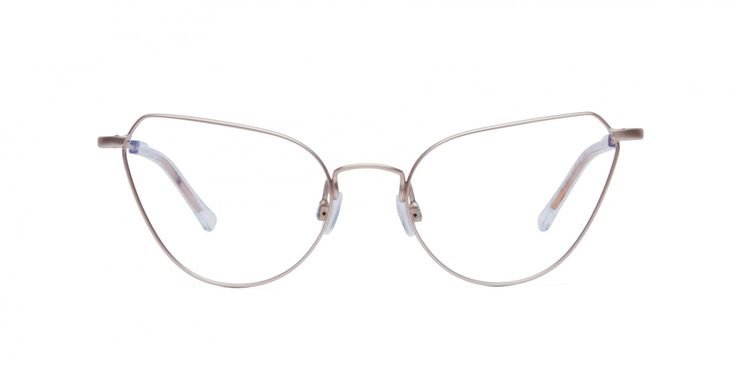 A CAT A LÖKKA I Work your feminine vibes in this feather light metal cat-eye frame, just like the other cool-cats at Grunerløkka #kittycool
