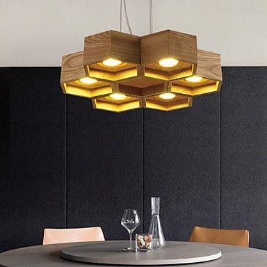 Plafond Lichten & hangers , Landelijk Anderen Kenmerk for LED Hout/bamboeWoonkamer Slaapkamer Eetkamer Studeerkamer/Kantoor Kinderkamer 4453458 2017 – €183.98