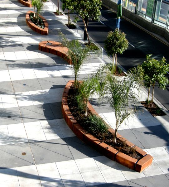 #streetscape #benches by miller company