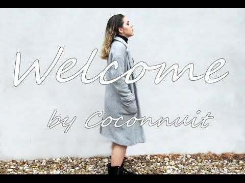 COCONNUIT: OUTFIT WET LOOK/ WELCOME TO MY YOUTUBE CHANNEL
