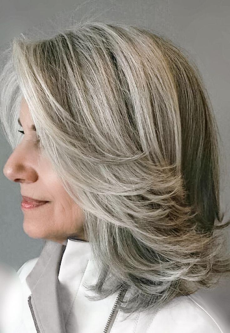 1904 best Gray Hair images on Pinterest   Going gray, Grey ...
