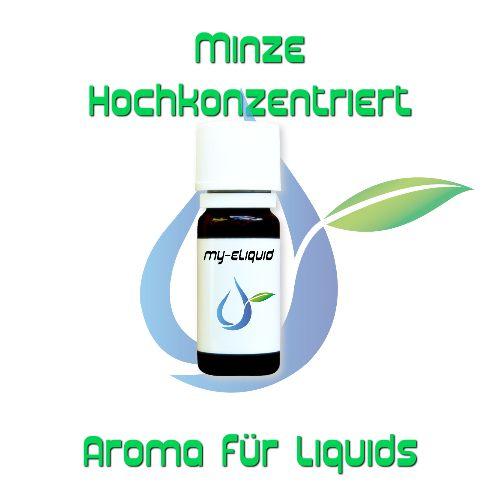 Minze Hochkonzentriertes Aroma | My-eLiquid E-Zigaretten Shop | München Sendling