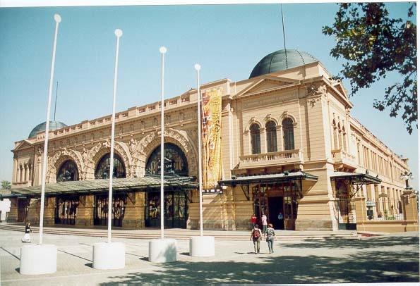 Mapocho Station, Santiago, Chile.