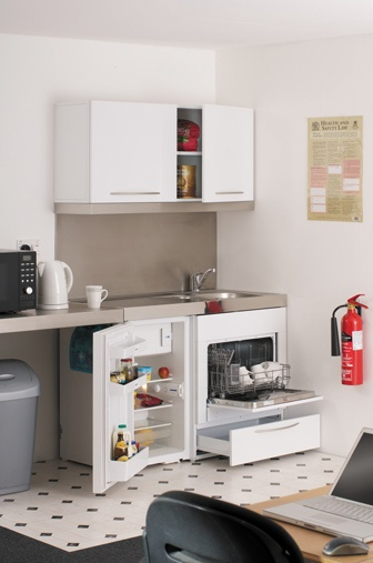 Elfin kitchens adds compact dishwasher to its offering for Small dishwashers for small kitchens