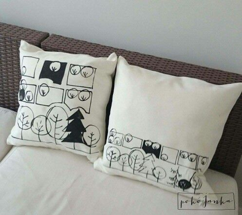 Garden pillows