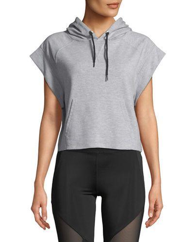 Boxer Cap-Sleeve Sweatshirt