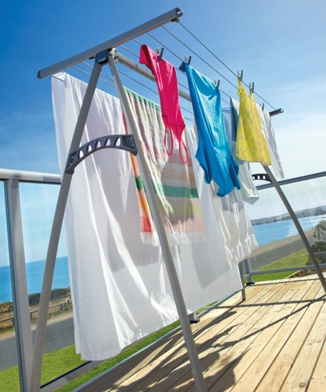 Wonder If You Could Make A Homemade Clothesline Out Of An