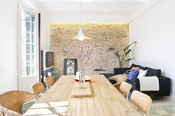 Interesante reforma en casa de 75 metros cuadrados