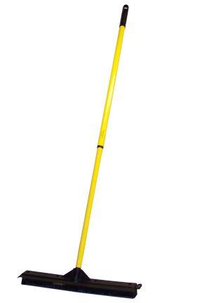 $17.95 - Outdoor Rubber Broom (18 in.): An 18