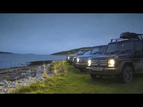 Los Mercedes 4x4 atraviesan el Reino Unido por caminos | Auto10.com - MasQmotor