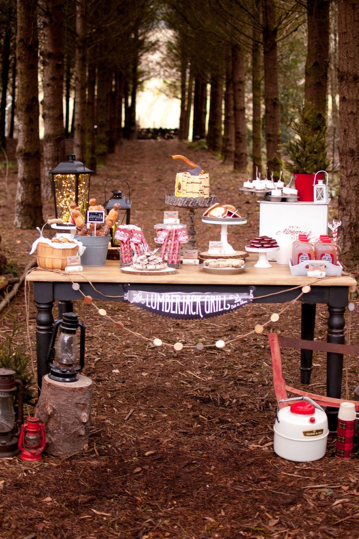 89 Best Lumberjack Camping Party Inspiration Images On