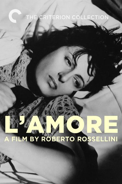 Roberto Rosselini directs Anna Magnani in two short films about love and lonliness. In the first, a woman makes a last-ditch attempt to save her relationship over the phone. In the second, a peasant woman believes she is pregnant with the son of God.