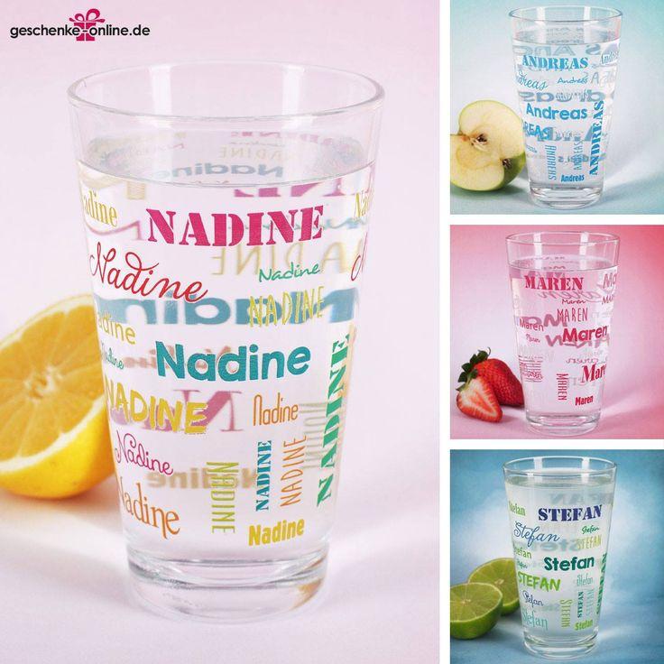 Dein Trinkglas mit Namen