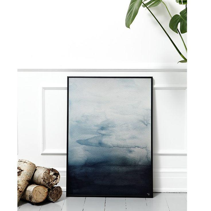 Trine Holbæk Print Blue Waters