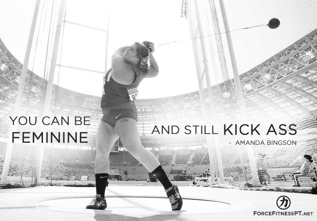 Amanda Bingson, Feminine, Hammer Throw, Olympics, US, Strength, Courage, Kick Ass, Motivation, Hard Work, Effort, Fitness,
