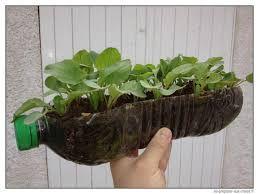 """Résultat de recherche d'images pour """"pot fleurs bouteille plastique"""""""