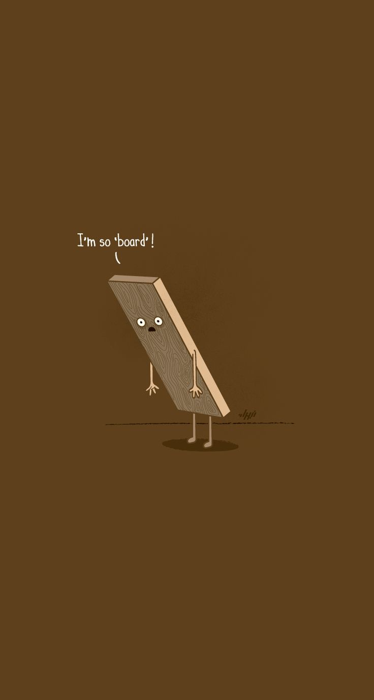 Bored - iPhone wallpapers @mobile9 | #cute #cartoon #funny