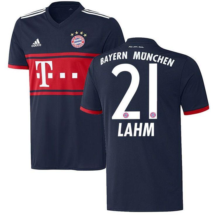 Philipp Lahm Bayern Munich adidas 2017/18 Away Replica Jersey - Navy